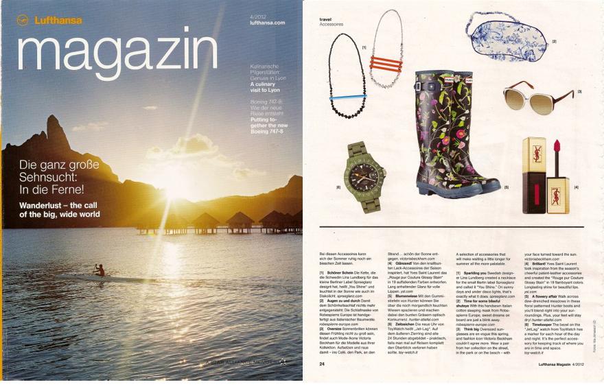 Lufthansa magazin – Lina Lundberg